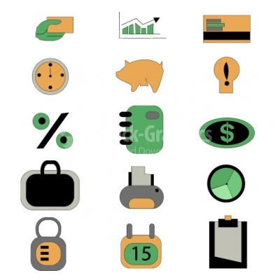 Office & Business icons - Illustration