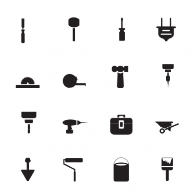 Construction Icons - Illustration