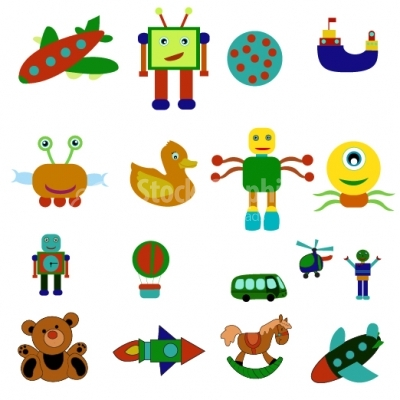 Kids Toy Collection- Illustration