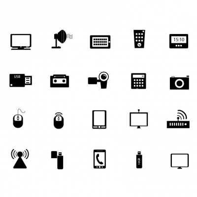 Communication Icons- Illustration