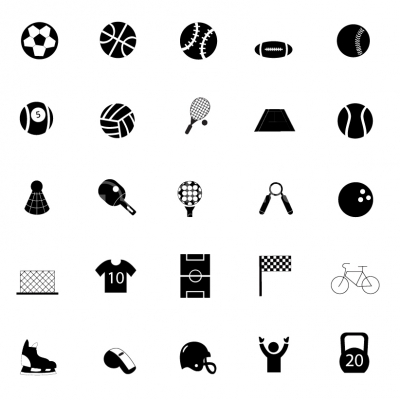 Sport icons - Illustration