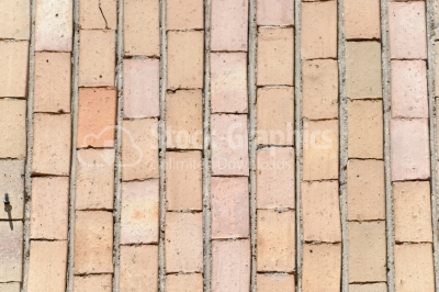 Vertical brick wall texture background