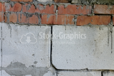 Cracked wall texture