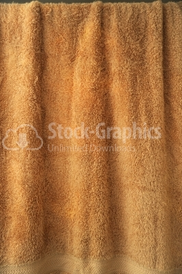 A fine texture of bath towel