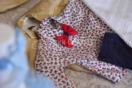 Baby clothes for baby shower