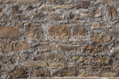 Background of irregular old stone wall