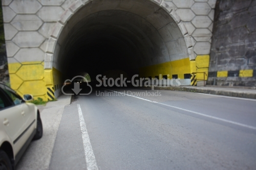 Big tunnel in the mountains