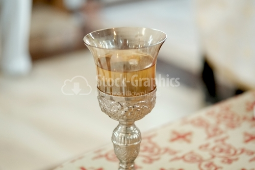 Chalice in the orthodox church
