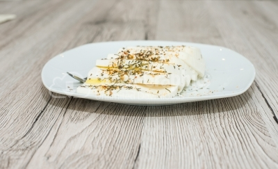 Cheese on wooden surface