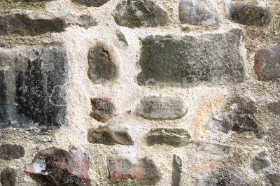 Close-up picture of grey stones