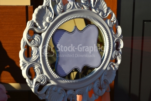 Decorative frame with a vintage look