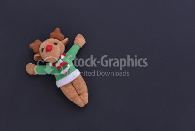 Deer Isolated Christmas Decoration