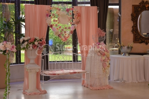 Floral decoration for wedding