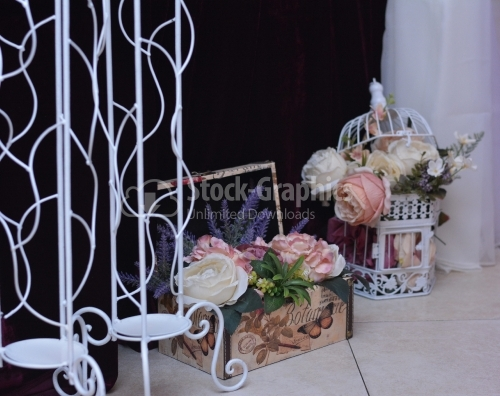 Floral design for ceremony