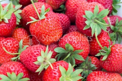 Fresh strawberries close-up