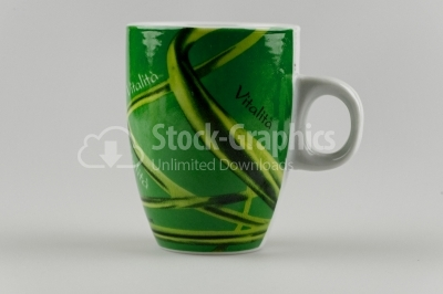 Green Cup - Stock Image