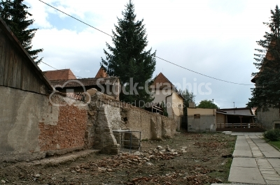 Historical wall - Stock Image