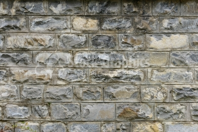 Natural granite wall unfinished greenish yellow mold texture