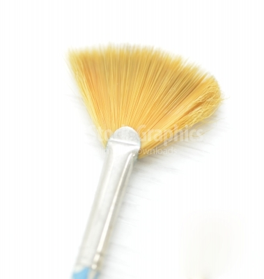 Paintbrush on isolated on a white background