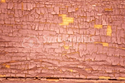 Painted old wooden wall (red background)