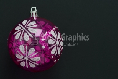 Pink decoration for christmas