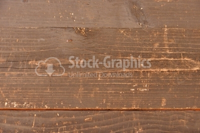Plank of wood brown painted