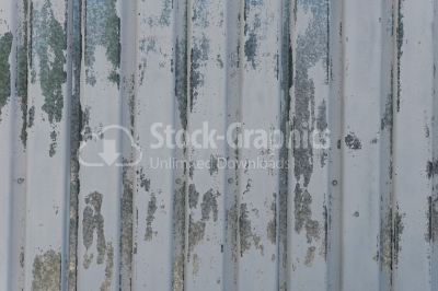 Scratched sheet metal