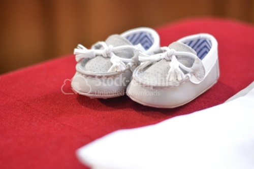 Small baby shoes
