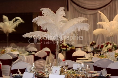 Wedding room details