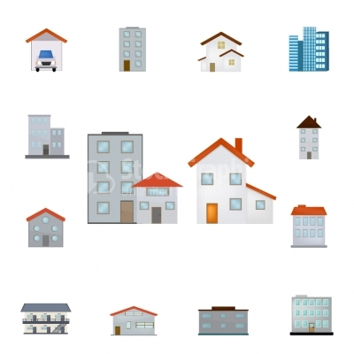 Buildings - Color Series - Illustration
