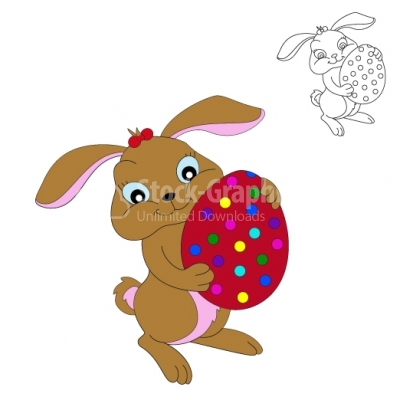 Easter Bunny - Illustration