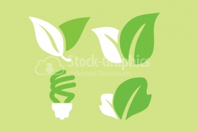 Environmental icons in vector format