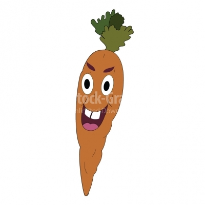Happy Carrot - Illustration