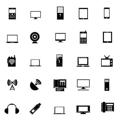 Software icons set