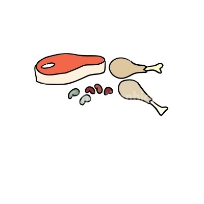 Steak Colorful Vector Clipart