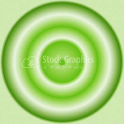 Vector green background - Illustration